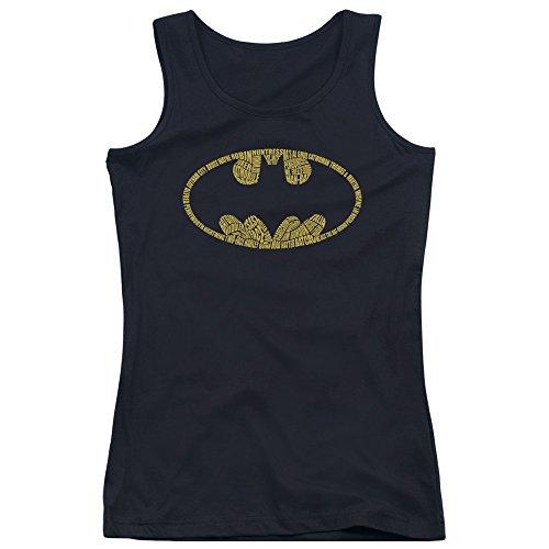 Batman-Canottiera da uomo con Logo, da ragazzo Nero  nero