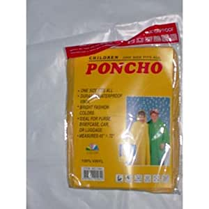 Amazon.com: Bulk Buys Kids Ponchos - Case of 144: Sports & Outdoors