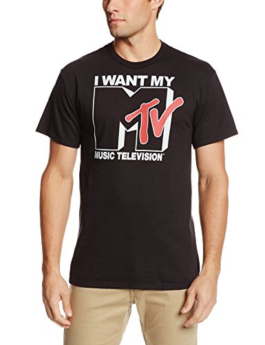 I Want My MTV Retro Logo T-shirt for Men - S to 2XL