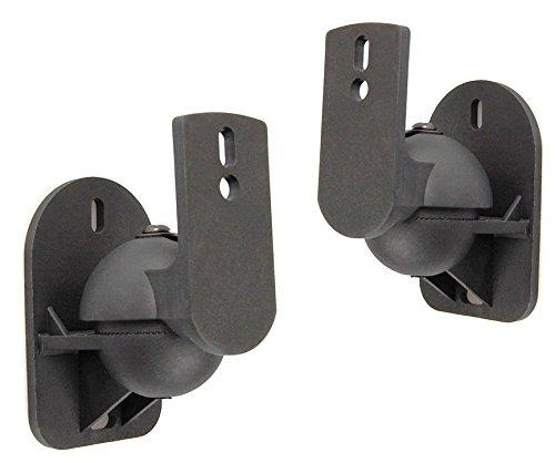RemmoTec-2er-Pack-Profi-Schwarze-Universal-Wandhalterungen-fr-Lautsprecher-Boxen-Halterung-Wandhalter-Wand-Halter-fr-Teufel-Consono-Lautsprecher-Boxenhalter-Boxenhalterung-Lautsprecherhalter-Lautsprec