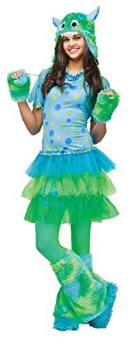 Fun World Monster Miss Costume - Junior (0-9) front-541131