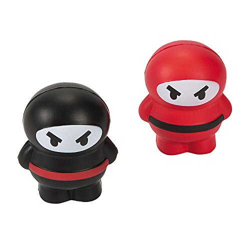 Ninja-Relaxable-Stress-Balls-Party-Favors-12-PC