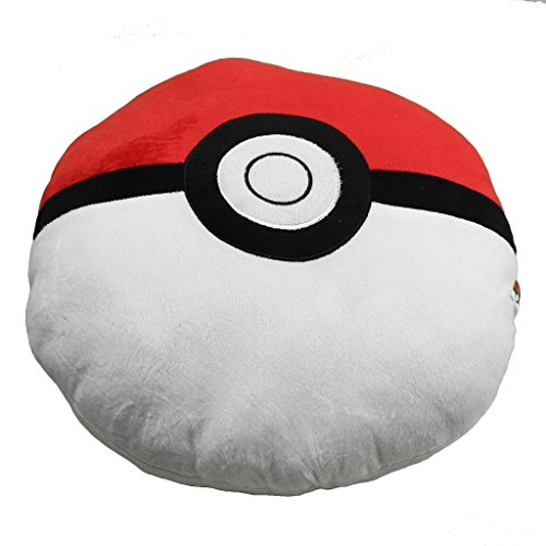 Pocket monster Pokemon Poke Ball Plush Stuffed Toy Soft Pillow 40CM by HiRudolph