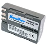 MaximalPower Nikon EN-EL3E Lithium-Ion Battery for Nikon Cameras