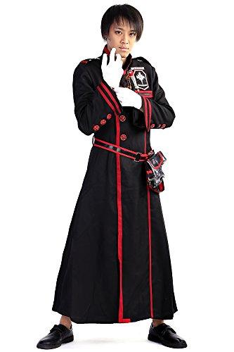 [ICEMPs D.Gray-Man Cosplay Custome Bakanda Kanda Yu Exorcist Uniform Set V3] (Exorcist Halloween Costume Uk)