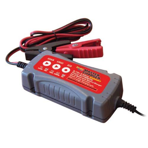 12V 3.8 Amp Intelligent Fully Automatic Car & Motorcycle Battery Charger