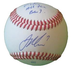 Joe Mauer Autographed Signed ROLB Baseball, Minnesota Twins, Team USA, Proof Photo by Southwestconnection-Memorabilia