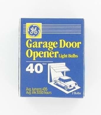 ge 40 watt rough service light bulbs garage door bulb. Black Bedroom Furniture Sets. Home Design Ideas