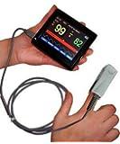 Écran tactile Finger oxymètre de pouls Sonde PM-60A + lecteur de carte