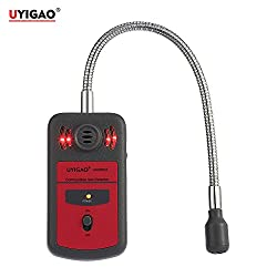 New UYIGAO Automotive Combustible Gas Meter monitor gas leak detector Gas Location Determine Tester Analyzer with Sound Light Alarm