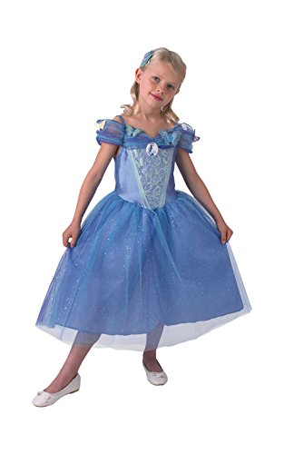 Rubie's - Disfraz para niña, diseño Cenicienta de Disney, talla L (3610284)