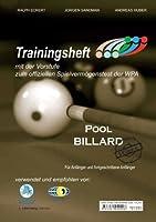 Pool Billard Trainingsheft
