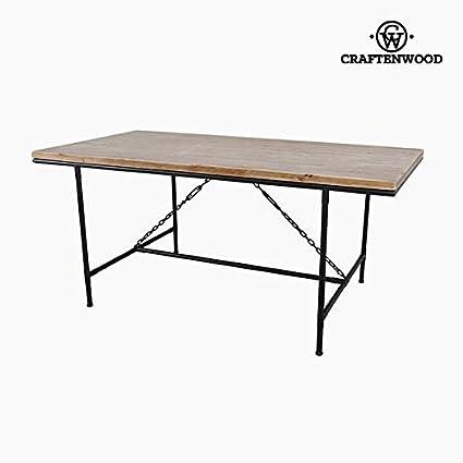 Tavolo da Pranzo Legno di abete 108 x 90 x 80cm by Craftenwood