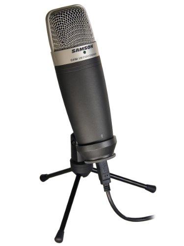 Samson C01U Usb Studio Condenser Microphone - Black