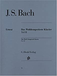 Well-tempered Clavier Bwv 870-893 Vol 2 - Piano - Hn 16 by G. Henle Verlag
