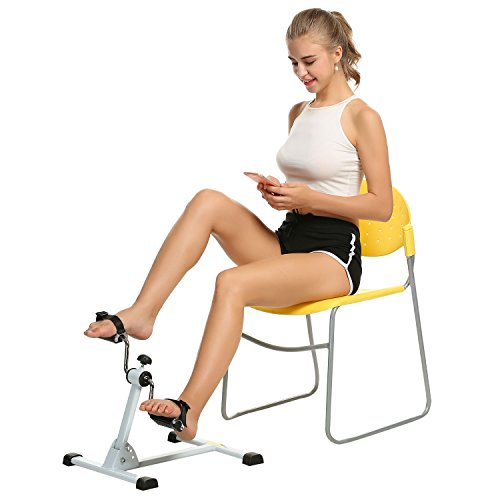Big Save! Ancheer Mini Exercise Bike Leg Exerciser Arm Pedaler Trainer
