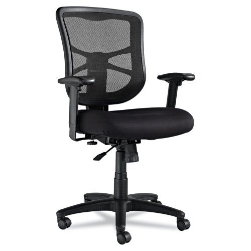 Alera Elusion Series Mesh Mid-Back Swivel/Tilt Chair,