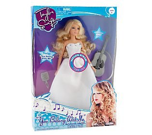 Taylor Swift Performance Collection You Belong With Me Singing Doll Lima Costafims
