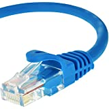 Mediabridge Cat5e Ethernet Patch Cable (10 Feet) - RJ45 Computer Networking Cord - Blue - (Part# 31-399-10B )