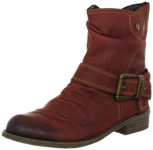 Rieker Kinder Peggy Boots Girls Red Rot (vino 33) Size: 12.5 (31 EU)