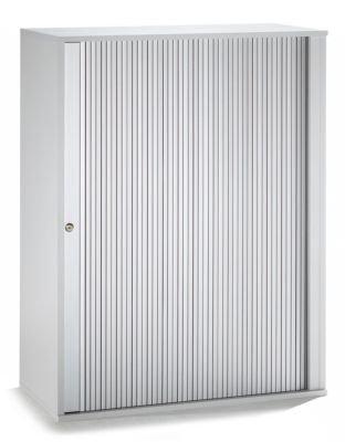 VERA Armoire à rideaux, empilable - 2 tablettes, hauteur 1090 mm corps façon érable - armoire armoire à rideaux armoire à stores armoires armoires à rideaux armoires à stores mobilier de bureau Armoire bass