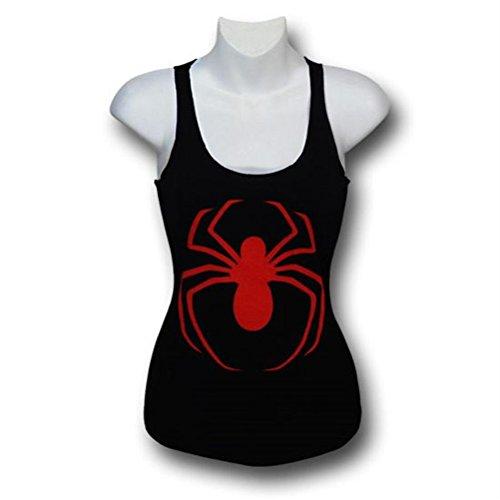 Ultimate Spiderman Women's 30 Single Tank Top- Slim XLa
