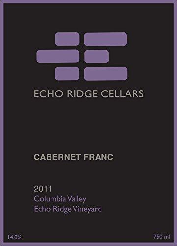 2011 Echo Ridge Cellars Columbia Valley Estate Cabernet Franc 750 Ml
