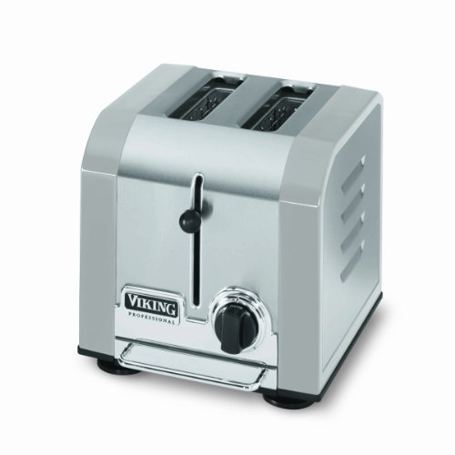 Viking Professional 2 Slot Toaster, Stainless Gray