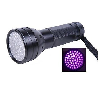 Mch- 51 Uv Led Scorpion Detector Hunter Finder Ultra Violet Blacklight Flashlight Aa