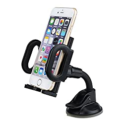Mpow Flex Dashboard Mount Universal Car Mount Holder Cradle for iPhone 6S Plus/6S/6Plus/6/5s/5c/5, Samsung Galaxy S6 Edge S5/S4/S3 Note 4/3, Nexus, LG, HTC and More Phone Models
