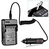 Battery Charger for Panasonic DMW-BCG10 Lumix DMC-ZS1 Image