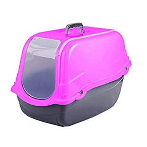 Click & Secure Pet Cat Litter Tray Toilet Box