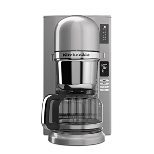 KitchenAid KCM0802CU Pour Over Coffee Brewer, Contour Silver Home Garden Dining Appliances ...
