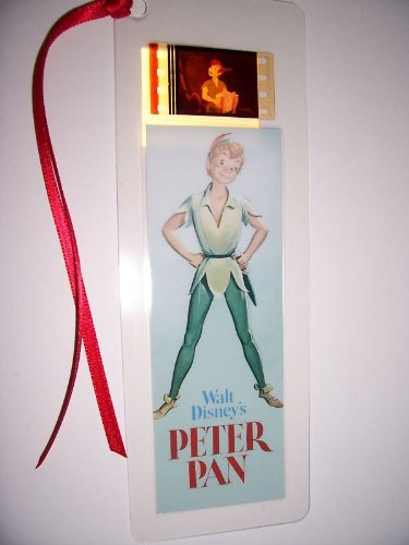 PETER PAN movie film cell bookmark memorabilia collectible disney animation