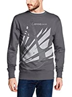 ICONIC COLLECTION - ASSASSINS CREED Sudadera Broken Logo (Gris Oscuro)