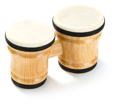 Percussion Plus Small Wooden Bongos