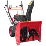 Benzin Schneefräse Schneeschieber ST 65 E-Start & Licht Rot 6,5PS Modell 2011 letzten Stückzahlen! Anlieferung...