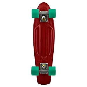 Penny Organic Complete Skateboard, 22-Inch, Maroon from Eastern Distribution