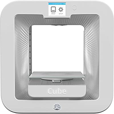 3D Systems 392200 Cube 3D Printer WHITE Gen 3