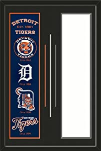 Detroit Tigers & Your Choice of other Team Heritage Banner Framed-House... by Art and More, Davenport, IA