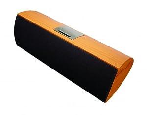 Aves Sapphire Wireless Bluetooth Speaker with iPod Dock - Wood Veneer