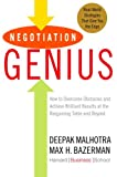 Image of Negotiation Genius: How to Overcome Obstacles and Achieve Brilliant Results at the Bargaining Table and Beyond