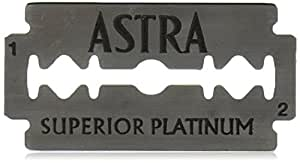 100 Astra Superior Premium Platinum Double Edge Safety Razor Blades
