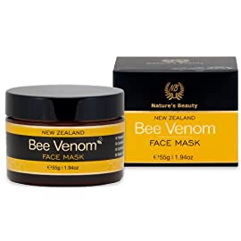 Organic Bee Venom Face Mask with Active Manuka Honey (UMF 10+), 1.94 Ounce