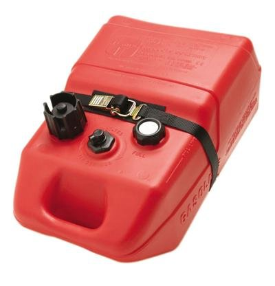 BoatBuckle Kwik-Lok Gas Tank Battery Box with Tie-Down Strap, 1-Inch x 4-Feet