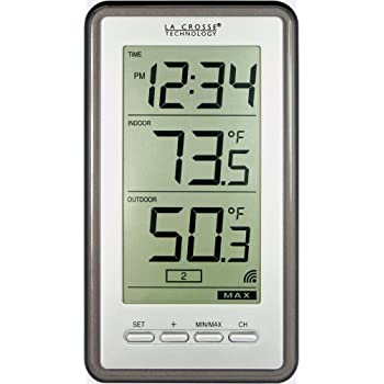 La Crosse Technology WS-9160U-IT Digital Thermometer with Indoor/Outdoor Temperature