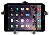 DURAGADGET Soporte Reposacabezas De Coche Para Apple iPad Air 2 ( Wi-Fi, Wi-Fi + Cellular ) - De 4 Brazos - ¡Facil Instalación!