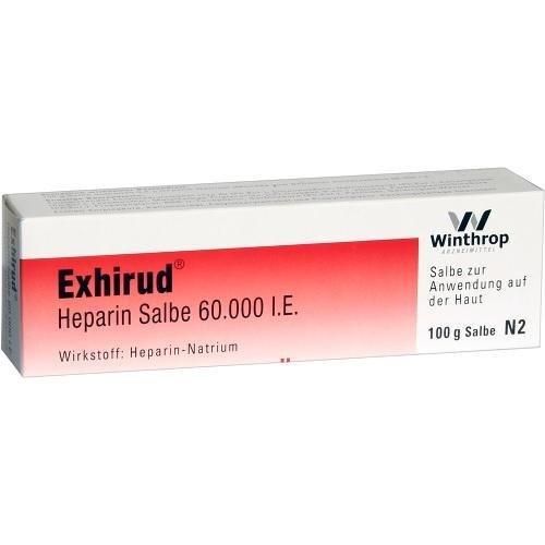 EXHIRUD HEPARIN 60000IE 100g Salbe PZN:2897419