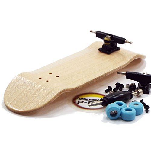 P-Rep Maple Complete Wooden Fingerboard with Basic Bearing Wheels - Starter Edition
