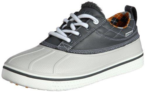 3e82db41b21b crocs Men s 12942 Allcast Duck Golf Shoe Charcoal White 10 M US ...